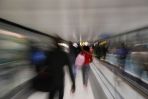 Passengers in motion