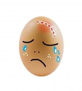 sad egg